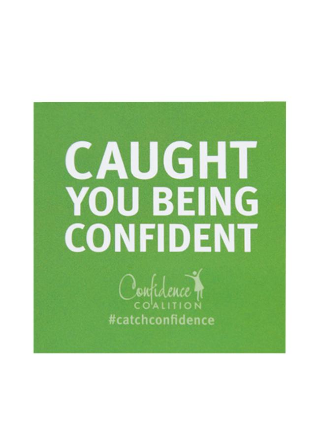 Initiatives,Confidence Coalition - Caught You Being Confident Cards